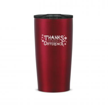 The Holiday Joe - Making a Difference 20oz. Stainless Steel Tumbler