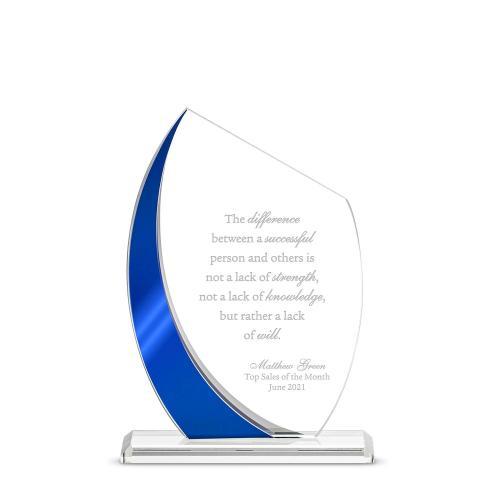 Crest Reflection Crystal Award