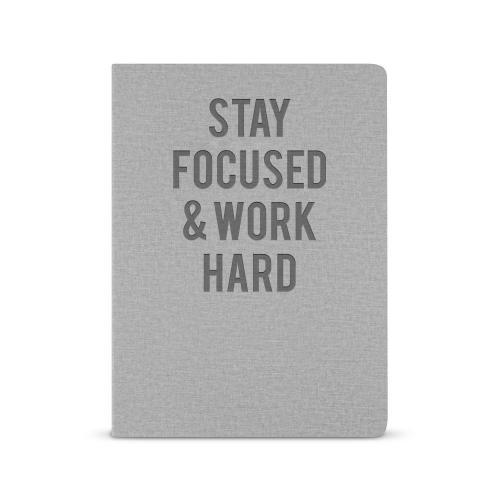 Stay Focused. Work Hard. - Morpheus Journal
