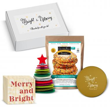 Bright & Merry Home for the Holidays Gift Box