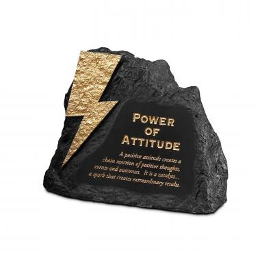 Attitude Power Rock Paperweight