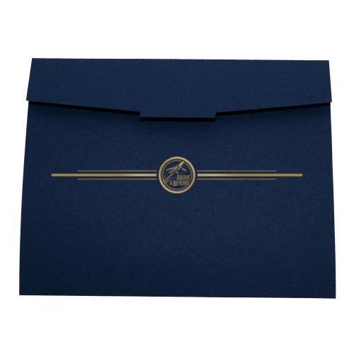 Above & Beyond 10-Pack Certificate Folders