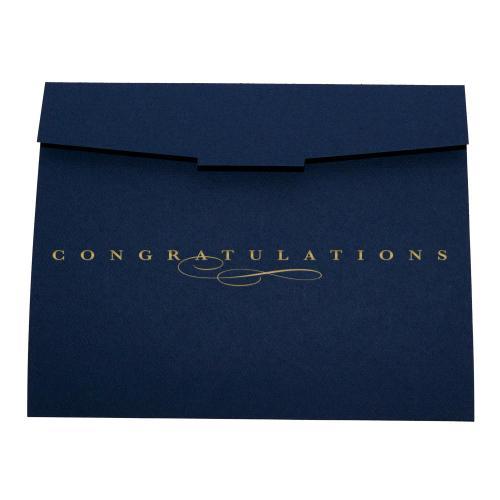 Congratulations 10-Pack Certificate Folders
