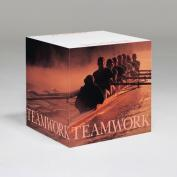 Teamwork Rowers Self-Stick Note Cube
