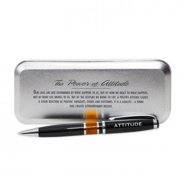 Power of Attitude Chrome Pen
