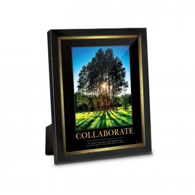 Collaborate Grove Framed Desktop Print