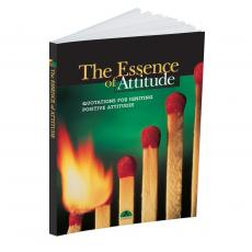 Inspirational Quote Books - The Essence of Attitude Quote Book