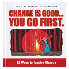 Inspirational Gift Books - Change is Good - You Go First Gift Book