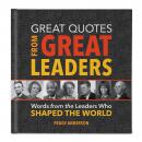 Great Quotes from Great Leaders Gift Book