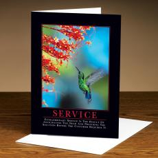 All Greeting Cards - Service Hummingbird 25 Pack Greeting Cards