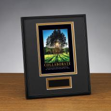 Successories Image Awards - Collaborate Grove Framed Award