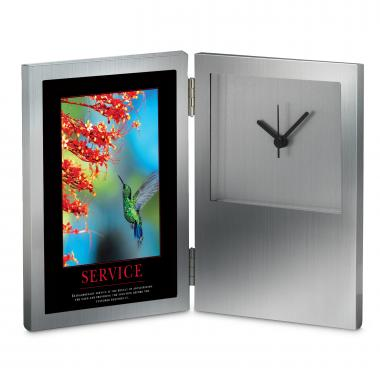 Service Hummingbird Desk Clock