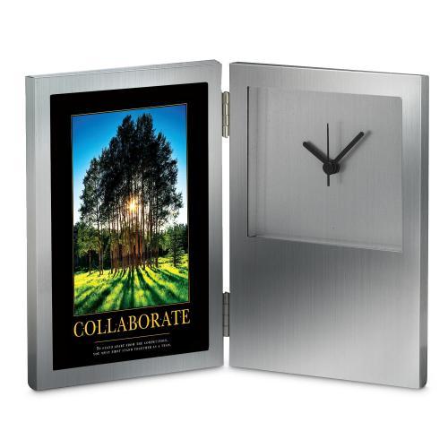 Collaborate Grove Desk Clock