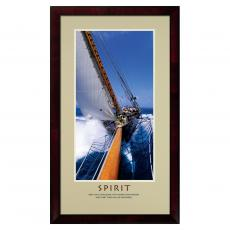 Spirit Sailing Framed Motivational Poster