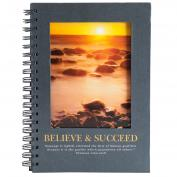 Believe and Succeed Journal Book