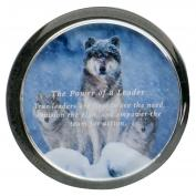 Leadership Wolves Positive Outlook Paperweight