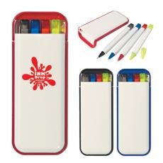 Health & Safety - 4 In 1 Writing Set