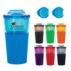 Health & Safety - 16 oz. Tumbler with Sleeve