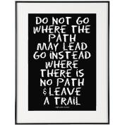 No Path (black) - SoHo Poster Collection