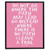 No Path (Pink) - SoHo Poster Collection