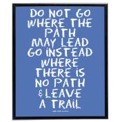No Path (Blue) - SoHo Poster Collection