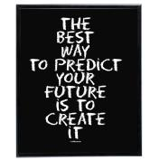Create It (Black) - SoHo Poster Collection