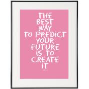 Create It (Pink) - SoHo Poster Collection