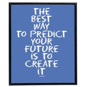 Create It (Blue) - SoHo Poster Collection