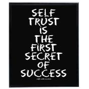 Self Trust (Black) - SoHo Poster Collection