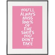 Always Miss (Pink) - SoHo Poster Collection