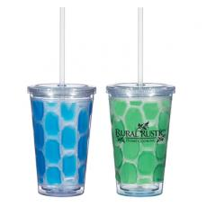 Health & Safety - 16 oz. Double Wall Cool-N-Go Tumbler