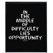 Opportunity (Black) - SoHo Poster Collection