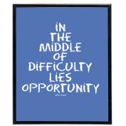Opportunity (Blue) - SoHo Poster Collection