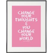 Change Your World (Pink) - SoHo Collection