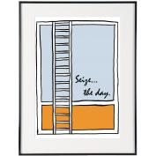 Seize The Day - SoHo Poster Collection