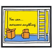 You Can Overcome Anything - SoHo Poster Collection
