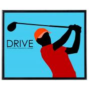 Drive Golf - SoHo Poster Collection