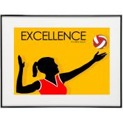Excellence Volleyball - SoHo Poster Collection