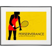 Perseverance Tennis - SoHo Poster Collection