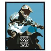 Good and Bad Dirt Bike - SoHo Poster Collection