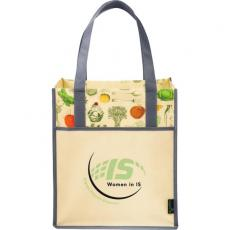 Drinkware - Matte Laminated Non-Woven Vintage Big Grocery Tote