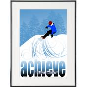 Achieve Snowboard- SoHo Collection
