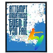 Attempt Greatness Surf - SoHo Poster Collection