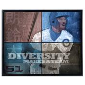 Diversity Baseball - SoHo Poster Collection