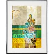 Drive Basketball - SoHo Poster Collection