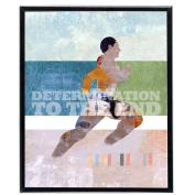 Determination Runner - SoHo Poster Collection