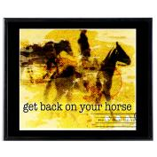 Back On Your Horse - SoHo Poster Collection