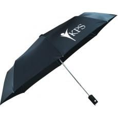 "Health & Safety - 42"" Auto Open Flashlight Umbrella"