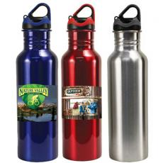 Apparel - 24 oz Stainless Steel Quest Bottle, Full Color Digital