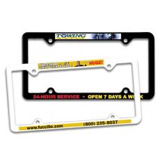 Apparel - Thin Panel License Plate Frame, Full Color Digital